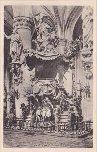 Belgium Brussels Chair de Evite de l'Eglise Saint-Gudule