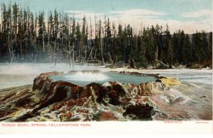 Punch Bowl Spring, Yellowstone National Park, pre-1907