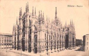 Milano Duomo Italy Unused