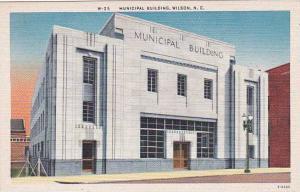 North Carolina Wilson Municipal Building