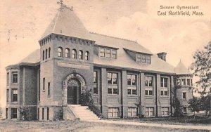 Skinner Gymnasium East Northfield, Massachusetts Postcard
