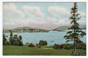 South West Harbor, Maine, View from Ocean House Manset