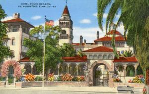 FL - St. Augustine. Hotel Ponce de Leon