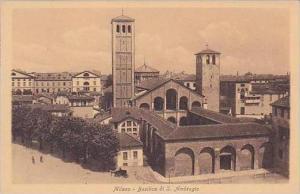 Italy Milano Basilica di S Ambrogio