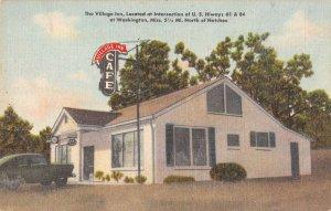 Washington Mississippi The Village Inn Vintage Postcard AA16691