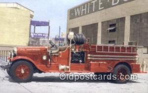 Open Cab Pumper, Emerald Lakes Fire District Mt Pocono, PA, USA Postcard Post...