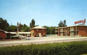 Town House Motel Joliet Illinois IL Unused Vintage Postcard D24