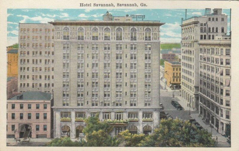 SAVANNAH , Georgia , 1900-10s ; Hotel Savannah