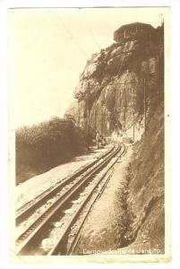 RP; Railroad tracks , Corcovado, Rio de Janeiro , Brazil , PU-1921