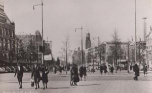 Rotterdam Calandplein Dutch Uniform Pub Vendor Stall Real Photo Holland Postcard