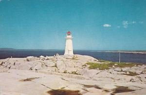 Lighthouse , PEGGY´S COVE , Nova Scotia , Canada , 50-60s