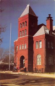 Jefferson Texas~Historical Museum~Former Courthouse Post Office~1960s Postcard