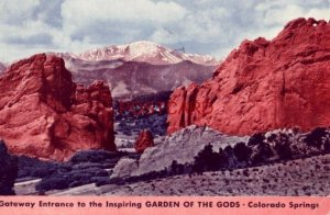 1942 EASTER SUNRISE SERVICE in the Cathedral Spires of the GARDEN OF THE GODS