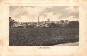 Dorchester Village General view Panorama Postcard