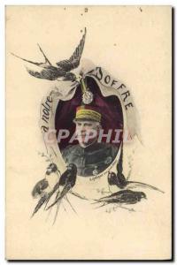 Postcard Old Army Joffre