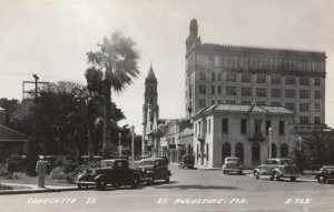 RP: ST AUGUSTINE , Florida , 1930-40s ; Charlotte Street