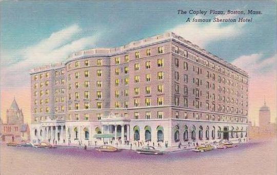 Massachusetts Boston The Copley Plaza
