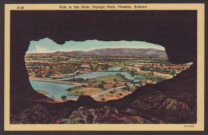 Hole in the Rock,Papago Park,Phoenix,AZ Postcard
