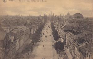 ANVERS, Belgium, 1900-1910's; Vue Panoramique De L'Avenue De Keyster