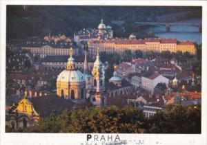Czech Republic Praha Mala Strana Panorama