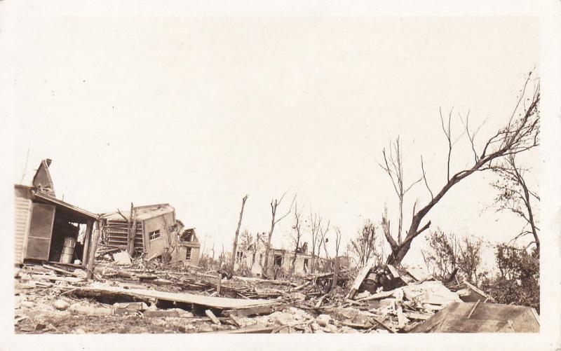 RP: Cyclone / Tornado damage , TYLER , Minnesota , Aug.1918 : #1