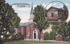 Lincoln Marriage Temple, Pioneer Memorial State Park, Harrodsburg, In Old Ke...