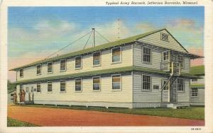 Jefferson Barracks~Talk by Typical Army Barracks~Soldiers Mail~Doors Open~1941