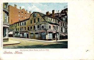 MA - Boston. Old Corner Bookstore