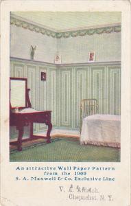 New York Chepachet Wall Paper Advertising V A Aldrich 1913
