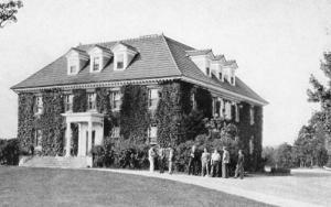 NJ - Blairstown. Blair Academy, West Hall