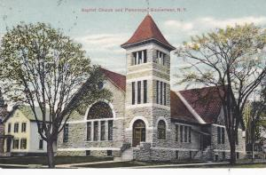 GOUVERNEUR, New York, PU-1909; Baptist Church And Parsonage