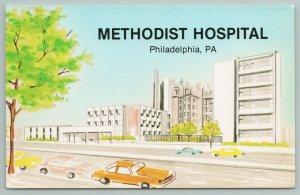 Philadelphia Pennsylvania~Methodist Hospital~1970s Artist Conception