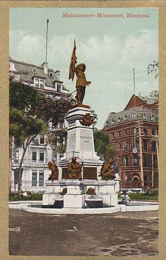 Maisonneuve Monument, Montreal, Quebec, 00-10s