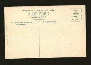 Vintage Port Antonio from Navy Island Jamaica UPU Color Postcard