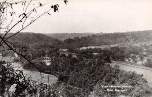 E29/ Fort Ancient Ohio RPPC Postcard c40s Native American Indian Mound Birdseye5