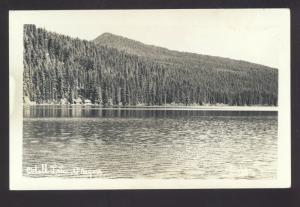 RPPC ODELL LAKE OREGON VINTAGE REAL PHOTO POSTCARD
