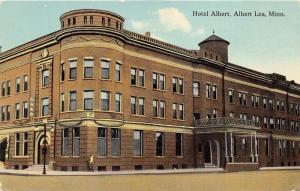 Albert Lea Minnesota~Hotel Albert~1913 Postcard