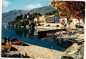 Switzerland, ASCONA, Lago Magiore, Collina San Michele, unused Postcard