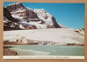 Athabasca Glacier, Columbia Icefield, Jasper, Alberta, Canada Postcard