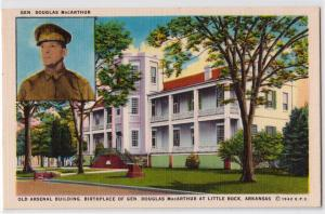Birthplace Gen Douglas MacArthur, Little Rock AR