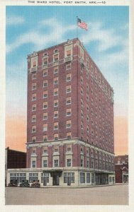 FORT SMITH , Arkansas, 1910-20s; The Ward Hotel