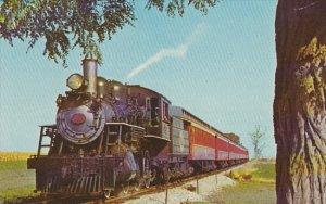 Strasburg Railroad Canadian Built Locomotive Number 741 Strasburg Pennsylvania