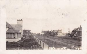 RP: Main Street , MEOTA , Saskatchewan , Canada , 1928
