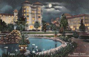 PASADENA , California , 1900-10s ; Hotel Green at night