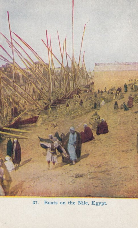 Boats on the Nile , Egypt , 00-10s