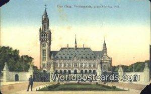 Vredespaleis 28 Aug 1913 Den Haag Netherlands Unused