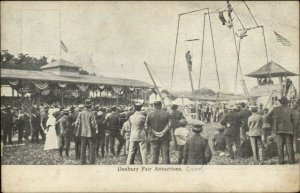 Danbury CT Fair Circus Act Acrobats c1910 Postcard