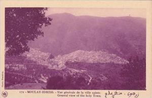 Morocco Moulay-Idriss General View Of The Holy Town 1920s-30s