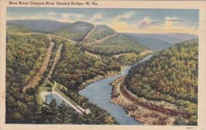 New River Canyon Near Gauley Bridge West Virginia 1949