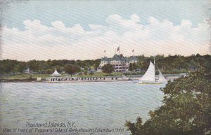 THOUSAND ISLANDS, New York, PU-1908; View Of Front Of Thousand Islands Park, ...